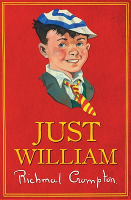 Book cover for Just William - gift edition
