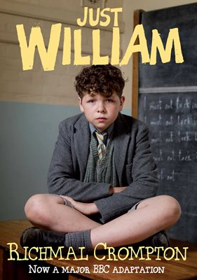 Book cover for Just William - TV tie-in edition