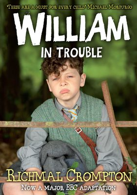 Book cover for William in Trouble - TV tie-in edition
