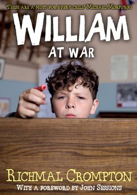 Book cover for William at War - TV tie-in edition