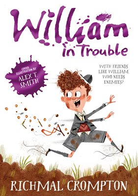 Book cover for William in Trouble