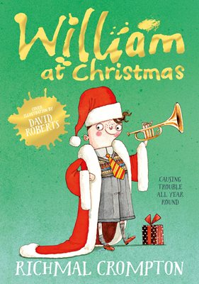 Book cover for William at Christmas