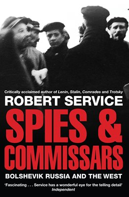 Book cover for Spies and Commissars