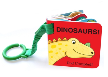 Book cover for Dinosaur Shaped Buggy Book