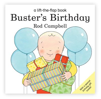 Book cover for Buster's Birthday