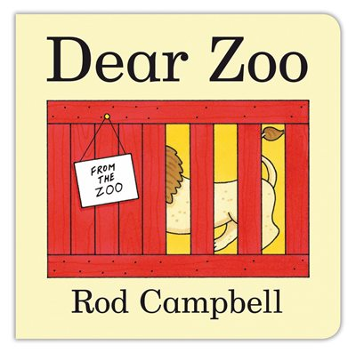 Book cover for Dear Zoo