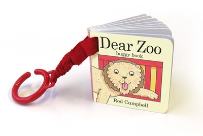 Book cover for Dear Zoo Buggy Book