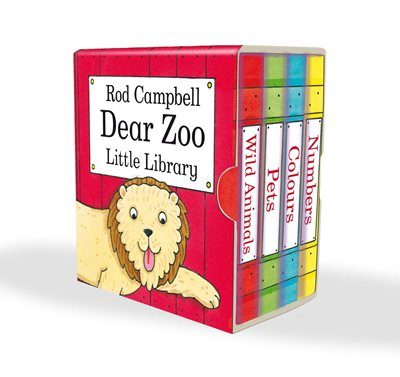 Book cover for Dear Zoo Little Library