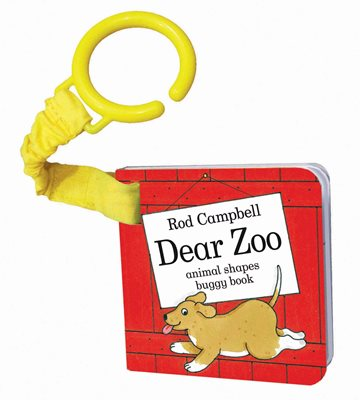 Book cover for Dear Zoo Animal Shapes Buggy Book