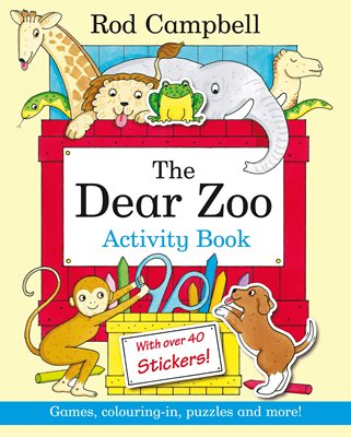 Book cover for Dear Zoo Activity Book