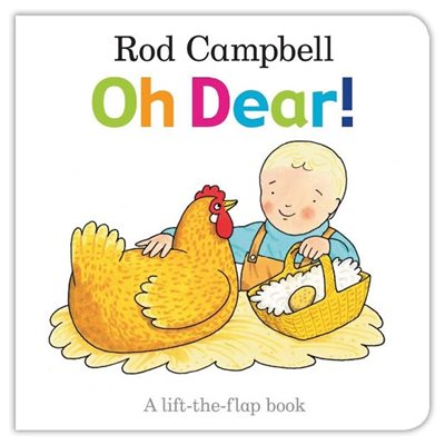 Book cover for Oh Dear!