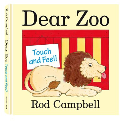 Book cover for Dear Zoo Touch and Feel Book