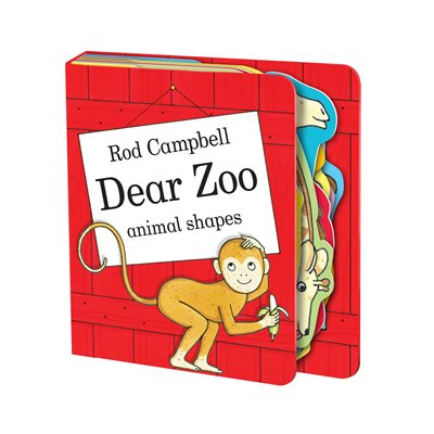 Book cover for Dear Zoo Animal Shapes