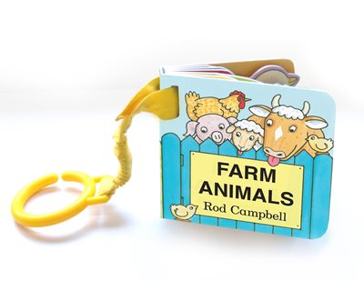 Book cover for Farm Animal Shaped Buggy Book