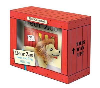 Book cover for Dear Zoo Book and Toy Gift Set