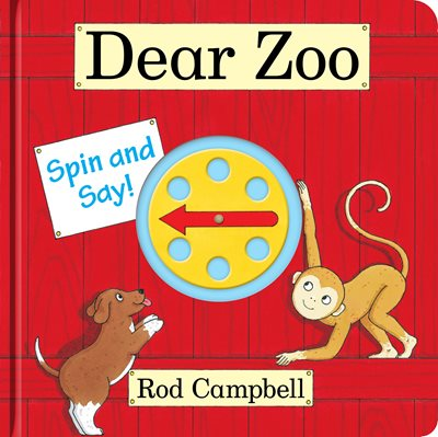 Book cover for Dear Zoo Spin and Say