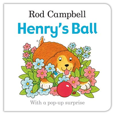 Book cover for Henry's Ball