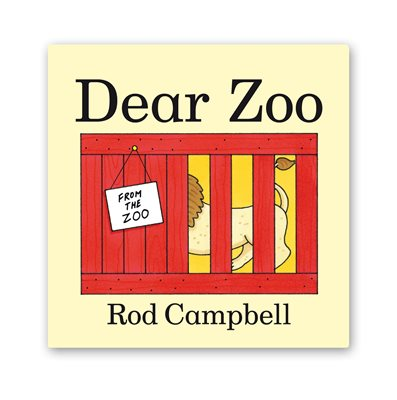 Book cover for Dear Zoo Mini Edition