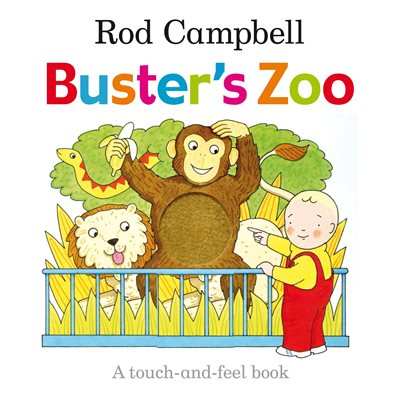 Book cover for Buster's Zoo