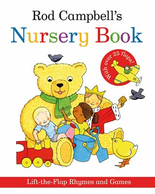 Book cover for Rod Campbell's Nursery Book