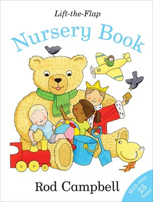 Book cover for Lift-the-flap Nursery Book