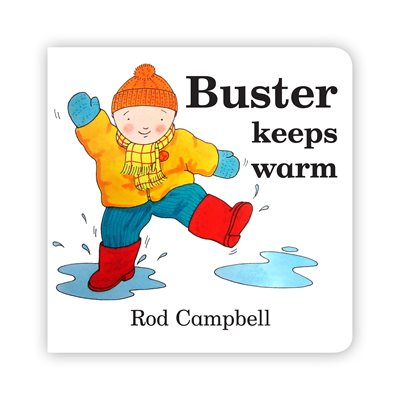 Book cover for Buster Keeps Warm