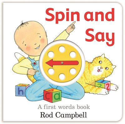 Book cover for Spin and Say