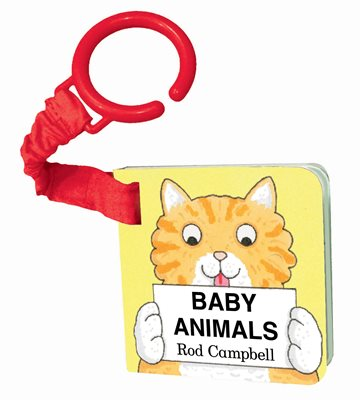 Book cover for Baby Animals Shaped Buggy Book