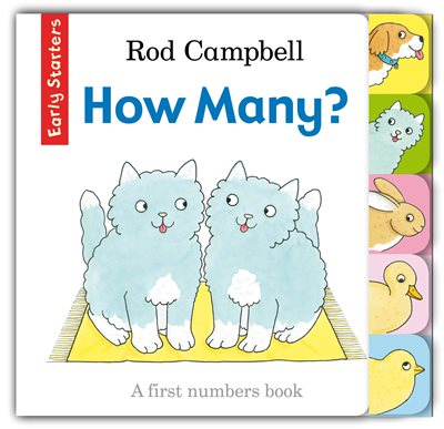 Book cover for How Many?