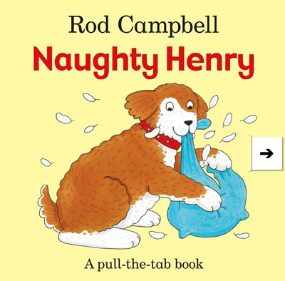 Book cover for Naughty Henry