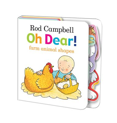 Book cover for Oh Dear! Farm Animal Shapes