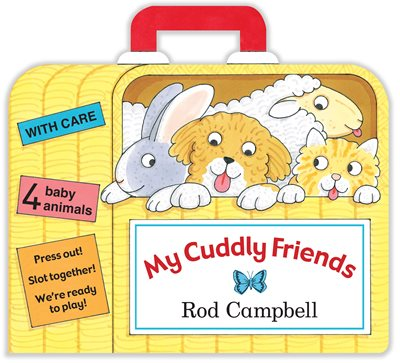 Book cover for My Cuddly Friends