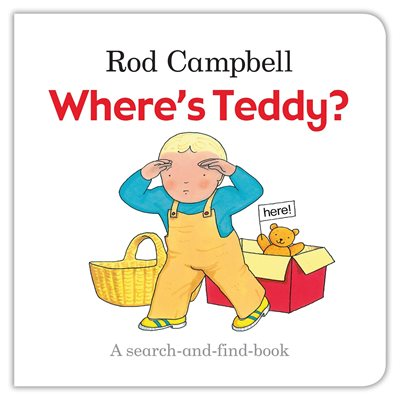 Book cover for Where's Teddy?