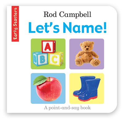 Book cover for Let's Name!