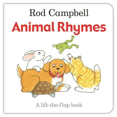 Book cover for Animal Rhymes