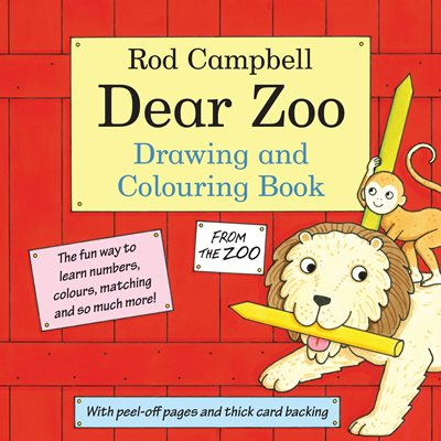 Book cover for The Dear Zoo Drawing and Colouring Book