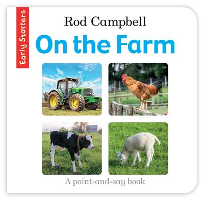 Book cover for On the Farm