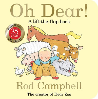 Book cover for Oh Dear! 35th Anniversary Edition