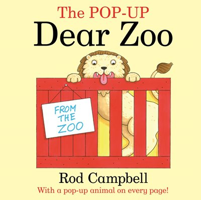 Book cover for The Pop-Up Dear Zoo