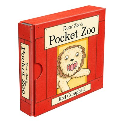 Book cover for Dear Zoo's Pocket Zoo