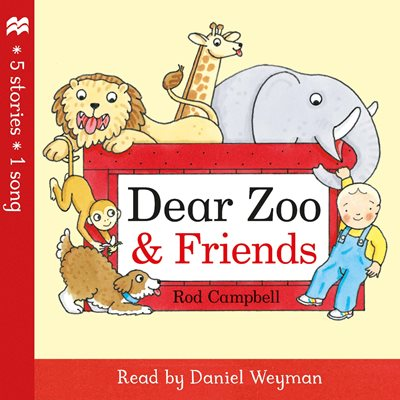 Book cover for Dear Zoo and Friends Audio