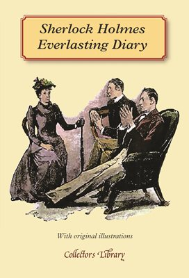 Book cover for Sherlock Holmes Everlasting Diary