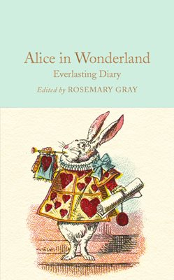 Book cover for Alice in Wonderland Everlasting Diary