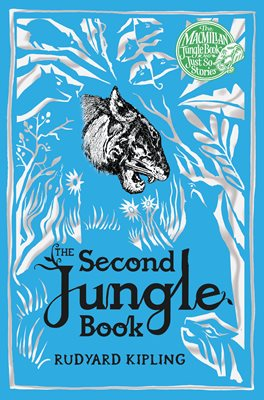 Book cover for The Second Jungle Book