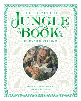 Book cover for The Complete Jungle Book