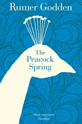 Book cover for The  Peacock Spring