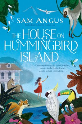 Book cover for The House on Hummingbird Island