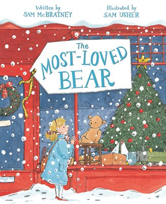Book cover for The Most-Loved Bear