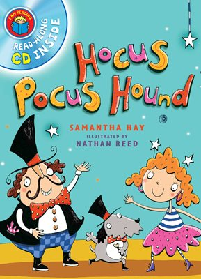 Book cover for I Am Reading with CD: Hocus Pocus Hound
