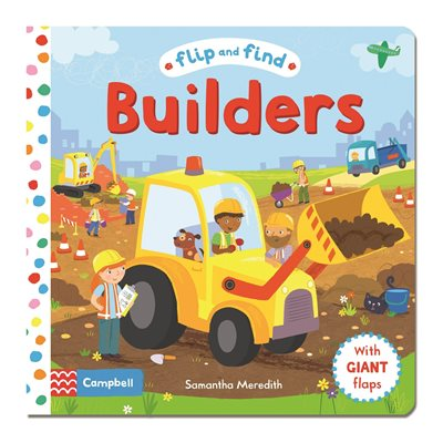 Book cover for Flip and Find Builders